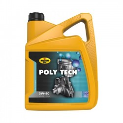 Масло моторное POLY TECH 5W-40 5л KROON OIL
